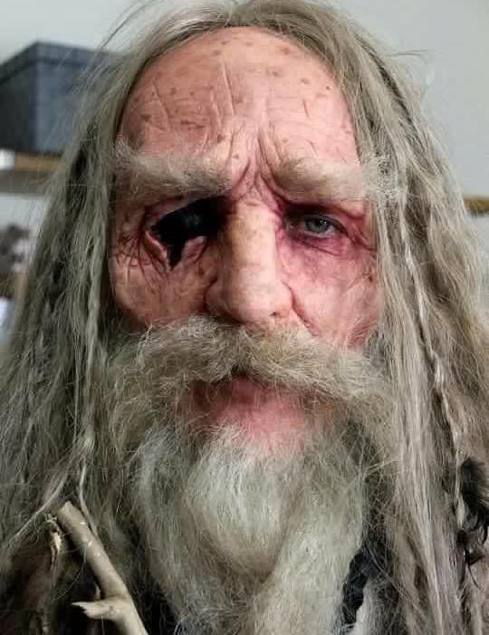 Image - Odin make-up.jpg | Vikings Wiki | Fandom powered by Wikia
