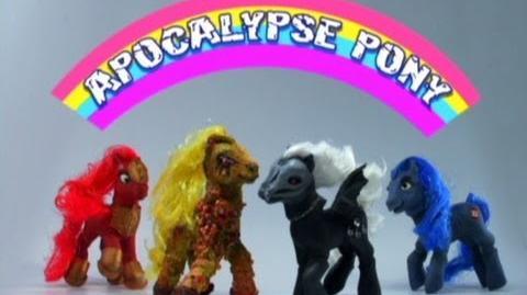 Robot Chicken Apocalypse Pony