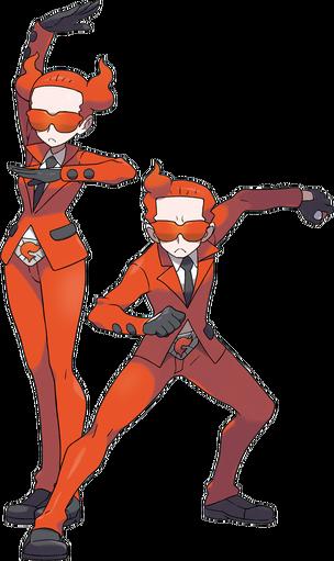 XY Team Flare Grunts