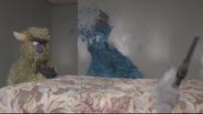 The Fuzz Monster Shot Kill