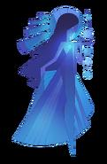 Blue Diamond Mural
