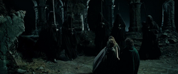 Five of the nine Wraiths