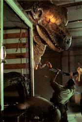 T-rex in Carnosaur 3