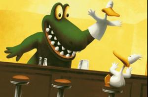 Duck Puppet Gator