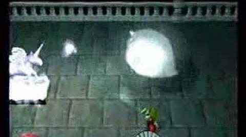 Luigi's mansion boss