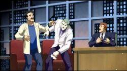 Dark Knight Returns Part 2 - Joker kills an entire studio audience