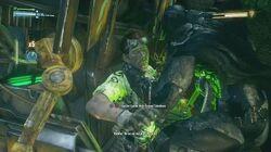Batman Arkham Knight Riddler Boss Fight (All Riddles Obtained)