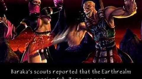Mortal Kombat Deception Baraka's Ending