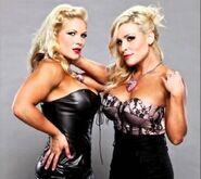 Beth and Nattie Divas of Doom
