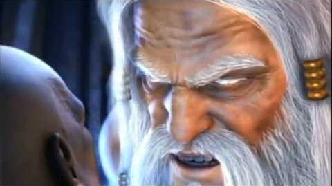 Zeus's killing Kratos Cinematic - God Of War 2