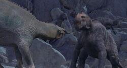 Aladar fighting Kron