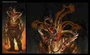 Concept of Hades' Head