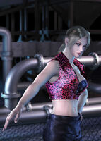 Nina Williams - CG Art Image - Tekken Tag Tournament