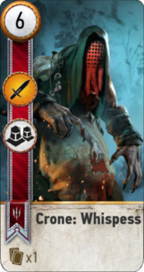 Tw3 gwent card crone Whispess