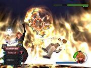 Axel battling Roxas