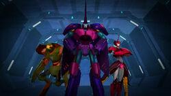 Decepticon Island's Leadership Trio