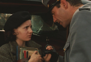 Captain Vidal's first meeting with Ofelia