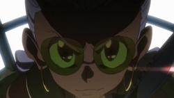 Rei Hououmaru's evil grin
