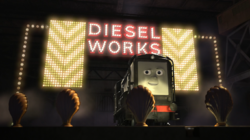 Diesel sing his song I'm Full of Surprises in The Great Race