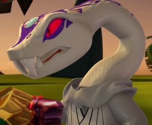 Pythor in Season 3
