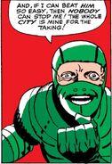 Scorpion's evil grin spider man original comic
