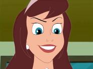 Clara's evil grin