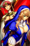 Queen Claudette and Shigi