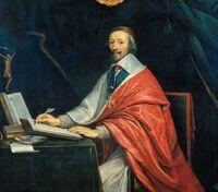 Cardinal Armand Jean de Plessis Richelieu