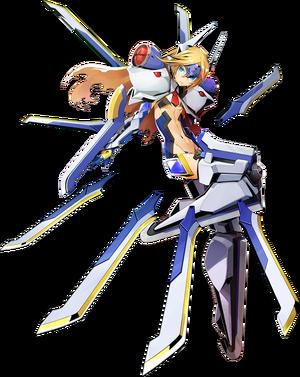 Mu-13 (Centralfiction, Character Select Artwork)