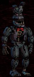 Nightmare Bonnie Design