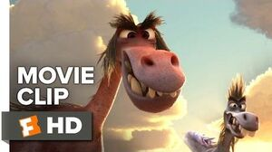 The Good Dinosaur Movie CLIP - Roar (2015) - Sam Elliott, Raymond Ochoa Animated Movie HD