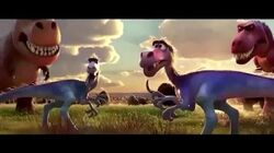 The Good Dinosaur - fight them raptor rustlers