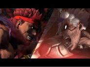 Asura vs Evil Ryu