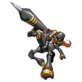 KnightChessmon (Black)