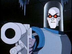 Mr. Freeze animated