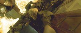 Draco tries to escape