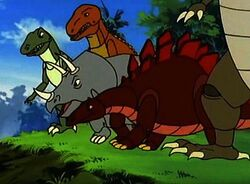 Robosaur Park Dinosaurs