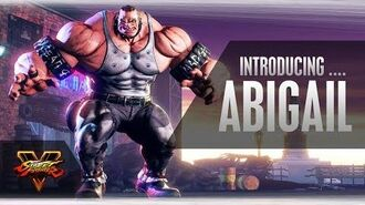 SFV Character Introduction Series - Abigail