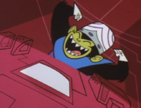 Mojo Jojo laughing (RRB)