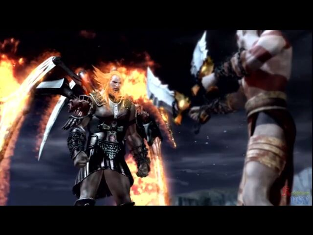 File:Ares confronting Kratos.jpg