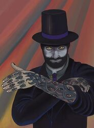 Mr. Dark the Illustrated Man