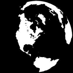 Black-and-white-globe-md