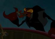Scroop's evil grin