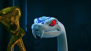 Pythor and Anacondrai Staff