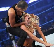 Evil Serena vs Kelly Kelly
