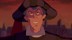 Frollo's Evil Smile