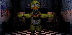 Chica in office (FNaF's2)