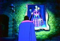 The Evil Queen's portrait