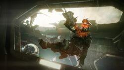 Killzone Mercenary Helghast Officer
