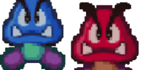 Red and Blue Goomba